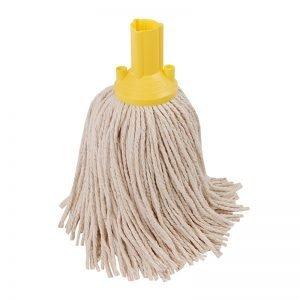 Exel Mop Head - Yellow - 14oz