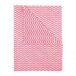 Oceans Washable Cloth - Red