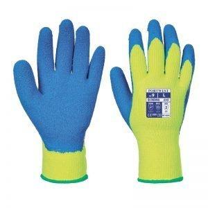Cold Grip Glove yellow blue