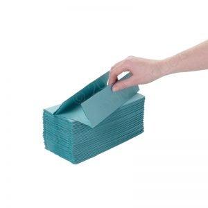 C-Fold Hand Towel - Green