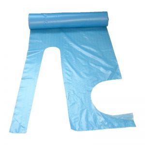 Blue Aprons On Roll
