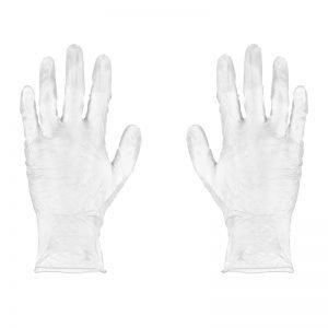 Clear Powder Free Gloves