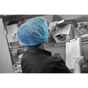 Disposable Mop Cap Blue