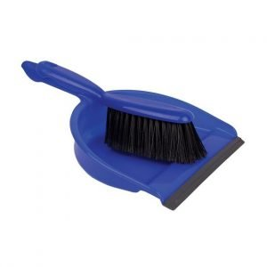 Blue Dust pan & brush set