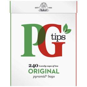 PG Tips teabags