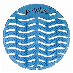 P Wave Blue Urinal Screen
